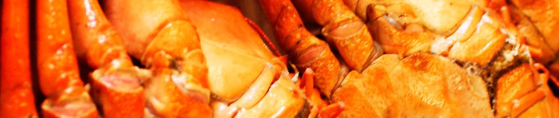 Comprar Patas o cuerpos de cangrejo Cocidos  de oferta